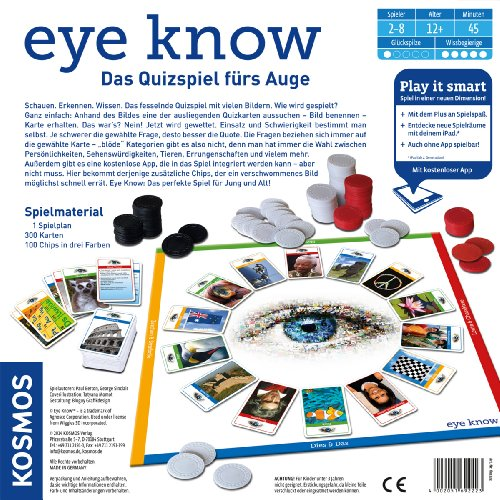 Kosmos 692223 – Eye Know – Play it smart, Familienspiel - 5