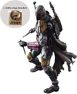 Jiege Variant Play Arts Kai Boba Fett PVC Painted Action Figure - Alien War Action Character Model - 11.02