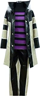 YuanCos Katekyo Hitman Reborn! Belphegor Bel Purple Halloween Cosplay Costume