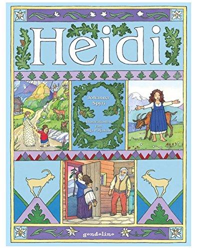 Heidi.: Literaturklassiker für Kinder. Hochwertige Bilderbücher mit wunderschönen Illustrationen. Zum Vorlesen und zum Selberlesen. Für 5,00 €.: ... Vorlesen und zum Selberlesen. Für 5,00 EUR.