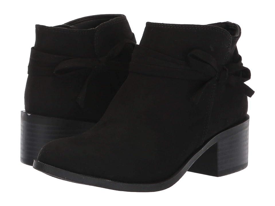 Nine West Kids Cyndees (Little Kid/Big Kid) (Black Microfiber) Girls Shoes