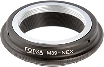 Lens Mount Adapter for Leica L39 M39 Lens to Sony E-Mount Sony Alpha a7 a7S a7R a7II a7SII a7RII A7III A7RIII A7SIII A9 a6500 a6300 a6000 a5100 a5000 a3500 NEX3 NEX5 NEX-5N 5R NEX-7 NEX-6 Adapter