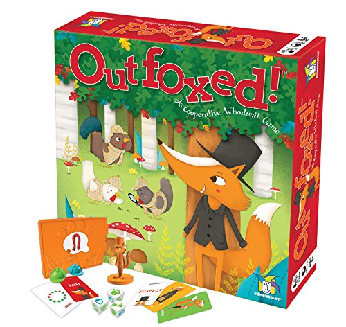 Outfoxed! A Cooperative Whodunit Board Game for Kids 5+