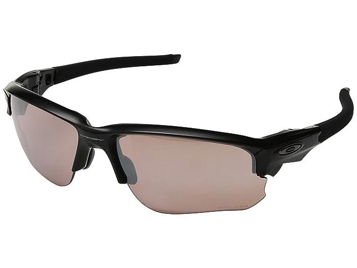 Oakley Flak Draft (Matte Black w/ Prizm Dark Golf) Sport Sunglasses