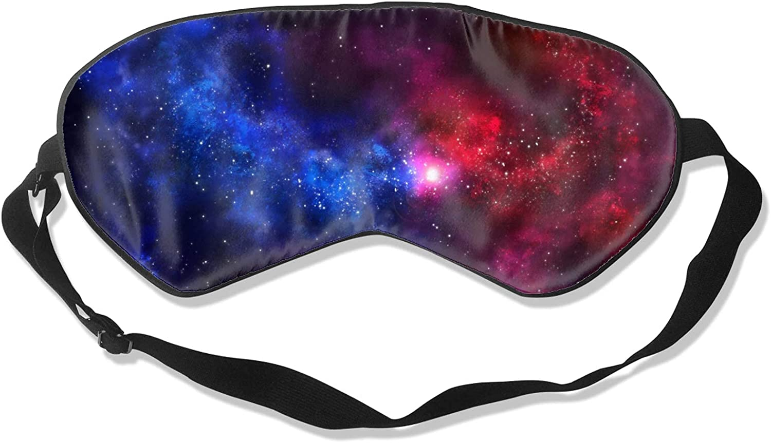 Red Blue New sales Starry Space Soft Block-Light Manufacturer OFFicial shop Cov Mask Sleeping Eye