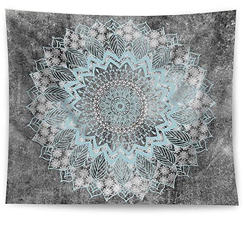 Tapiz de mandala indio colgante de pared tapiz bohemio manta de toalla de playa decoración de la pared del hogar tela de fondo A2 73x95cm