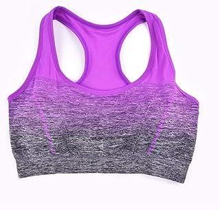 Women Sport Bra Seamless Underwear Fitness Padded Yoga Sports Bra Workout Crop Vest zhengpingpai