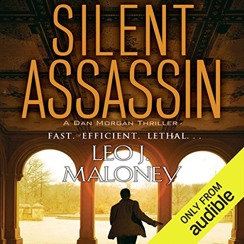 Silent Assassin audiobook cover art