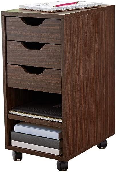 Rolling File Cabinet With Wheels Modern Folder Wood Office Filing Locking Organizer Furniture Ebook By AllTim3Shopping