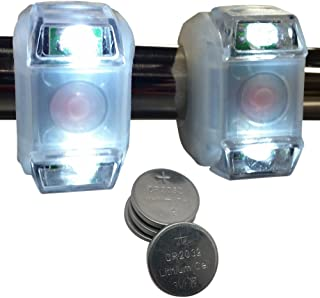 Bright Eyes Portable Marine LED Emergency Waterproof Boating Lights - Boat Bow or Stern Safety Light