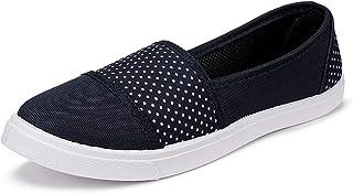 2ROW Women's Polka Dot Black Loafers