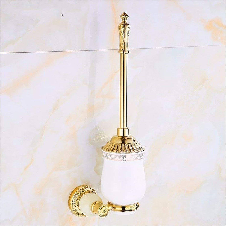 Natural Jade gold Pendant European Carved Bathroom Dry-Towels Costume,Toilet Brush