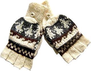 Gamboa - Mitones de Alpaca - Fabricados a Mano en Perú -