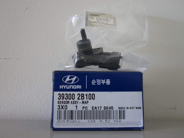 HYUNDAI Genuine 39300-2B100 Fresno Mall MAP Translated Assembly Sensor Black