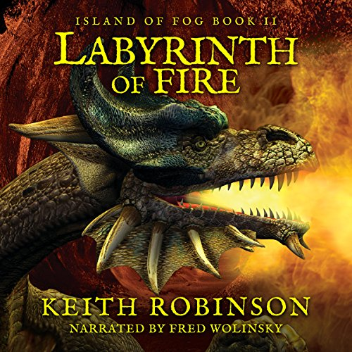 Labyrinth of Fire audiobook cover art