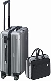 RIMOWA Lufthansa Bolero Collection Business Set (Suitcase & Laptop bag) 37L・8L Silver