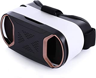 Pansonite Virtual Reality VR Headset with Adjustable Full Eye Protection System HD Lens for Classroom and Home Games or Movies Works with iPhone and Android