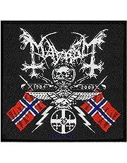 Mayhem Parche Coat of Arms Patch Tejida 10x 9,5cm