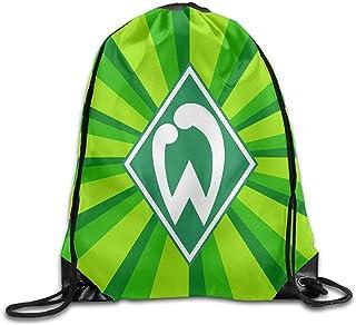 SV Werder Bremen Rucksack mit Kordelzug, Kordelzug, Aufbewahrungstaschen, bedruckt, Kordelzug, für Klettern, Wandern, Reisen