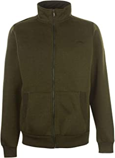 Official Slazenger Full Zip Track Jacket Mens Tracksuit Top