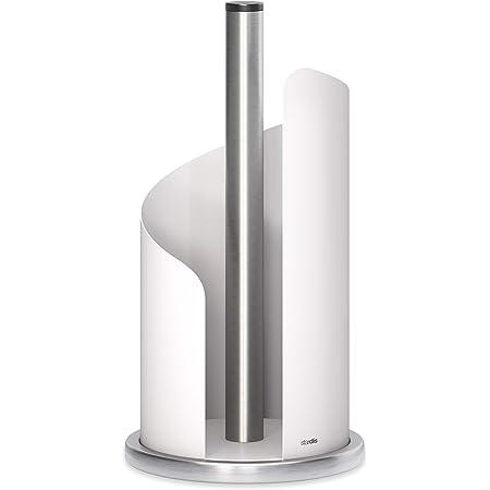 TOP Küchenrollenhalter 26,5x14,5x10cm Rollenhalter Halter Küchenrolle Edelstahl