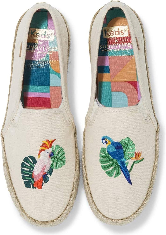 Keds x SUNNYLIFE Double Decker Bird Embroidery