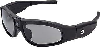iVUE Rincon 1080P HD Camera Glasses Video Recording Sport Sunglasses DVR Eyewear (Tilt Lens, Polarized/Impact Resistant, WiFi/App) (No Mem)
