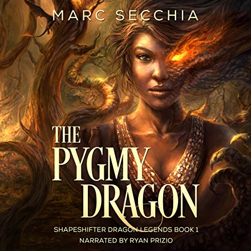 The Pygmy Dragon audiobook cover art