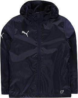 732138c7d19e2 Puma Essentials Core Rain Veste Doudoune Enfant garçons Bleu Marine L