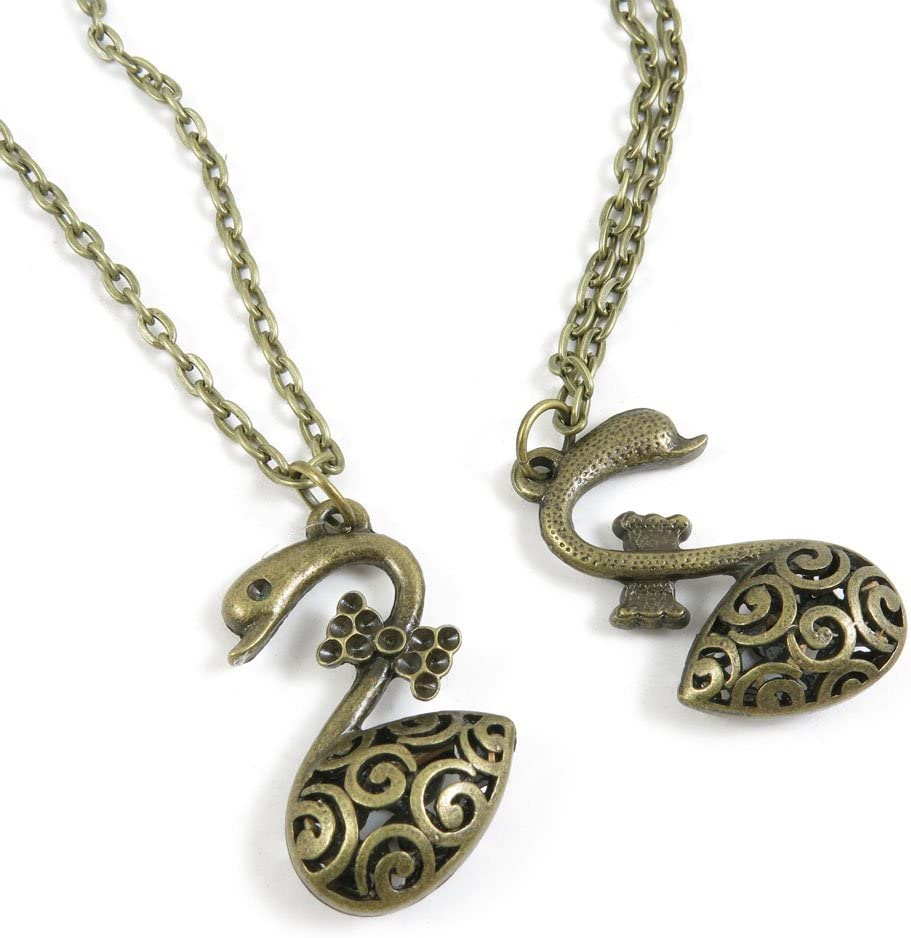 200 Pieces Antique Bronze Fashion Charms Necklace Easy-to-use Making 2021 new Jewelry