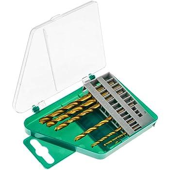 BeMatik - Brocas para Metal y Madera. Caja de 7 Brocas pequeñas ...