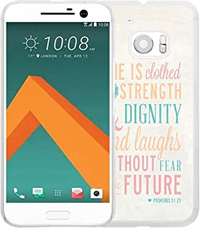 Case for HTC M9 Bible Verse for Girls,Hungo Soft TPU Silicone Protective Case for HTC One M9/9 Bible Verses Theme Proverbs for Girls Womens