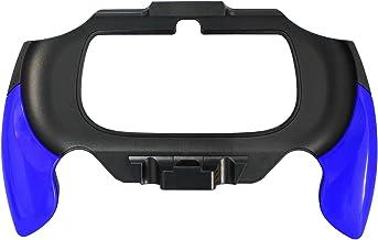 OSTENT Flexible Joypad Bracket Holder Hand Handle Grip Compatible for Sony PS Vita PSV PCH-2000 - Color Blue