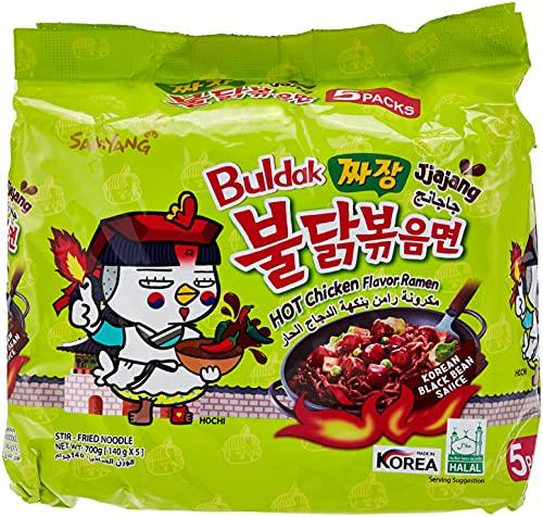 Ramen spicy Jjajang SAMYANG pack 5x140g Corée