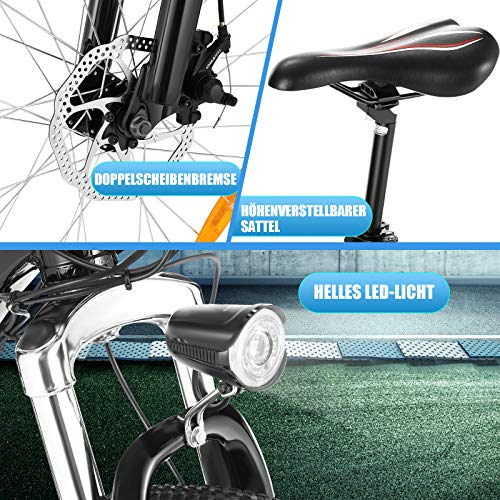 ANCHEER E-Bike Klapp / Falt Elektrofahrrad 20 Zoll Bild 6*