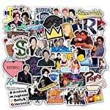 TV Show Fans Riverdale Stickers Pack 50-Pcs Decals of Movie Waterproof Sticker Decals for Cars Motorcycle Portable Luggages Laptops (Riverdale)