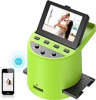 """Escáner de película Escáner de Alta resolución con LCD inclinable de 3,5"""", Convierte 35 mm/Super 8/110/ 126 película, Tran..."""