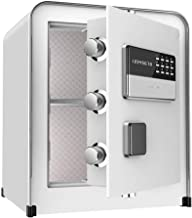 Safe Lock Box Security Safe Box Fireproof and Waterproof for documents for Home Office Hotel Business Jewelry Gun Cash Med...