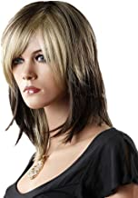Tsnomore Ombre Color Wig Fashion Women Wig (Shoulder Length Layered)