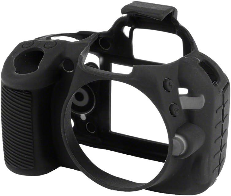Walimex Pro EasyCover - Funda para cámara Nikon D3100 Negro