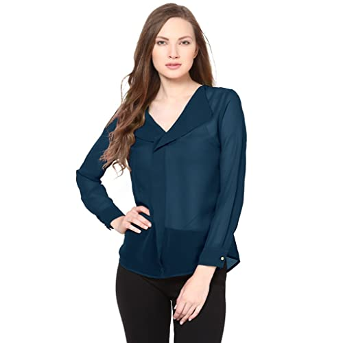 fdea56f35b958a Sheer Top: Buy Sheer Top Online at Best Prices in India - Amazon.in