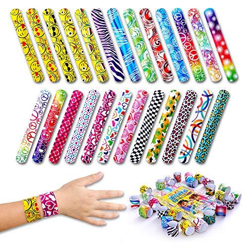 Giraffe - Slap Bracelets For Kids - Snap Bracelet Party Favors (50-Pack)