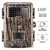 CampFENSE Caméra de Chasse 16MP 1080P 2.4' LCD, IP67 imperméable, Temps de...
