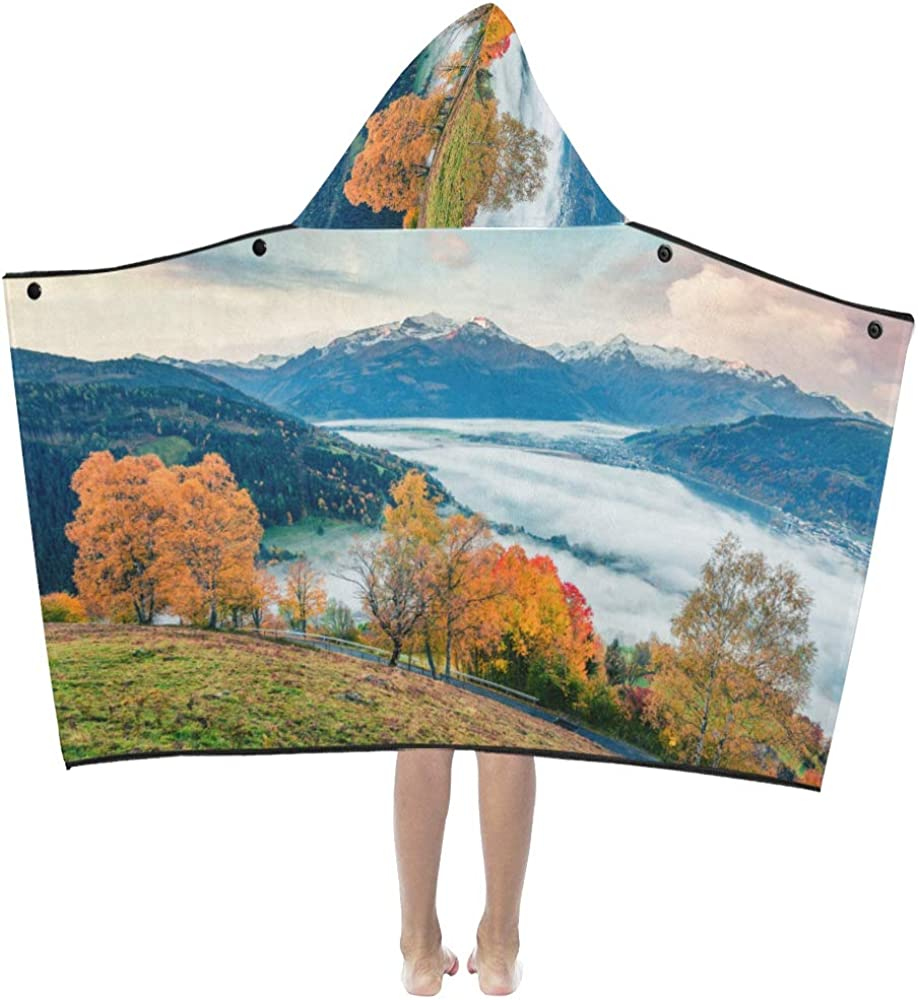 Kids Beach Blanket Autumn Don't miss All stores are sold the campaign Clouds Landscape Beautiful Valley