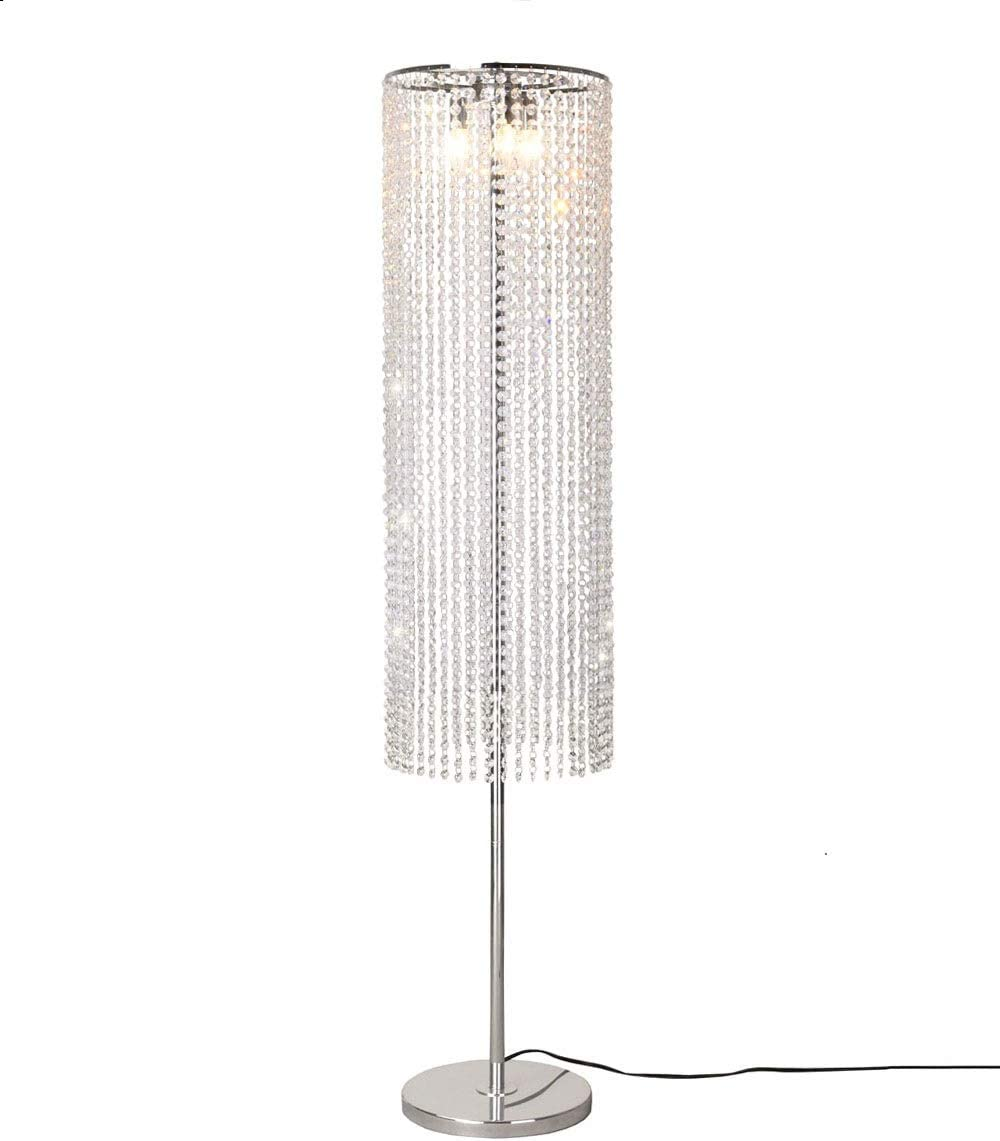 Surpars House Raindrop Crystal Floor Lamp Line in Switch shop Super sale period limited On Off