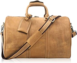 Relaxed Durable Leather Handbags Large-capacity Business Travel Bags Luggage Bags Business Computer Bags