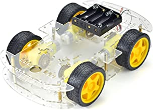 AptoFun 2WD Motor Smart Car Chassis for Arduino with 2 Gear Motor and Battery Box