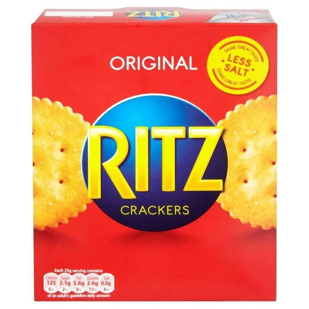 unisex Luxury Ritz the Original 200g Snack Cracker