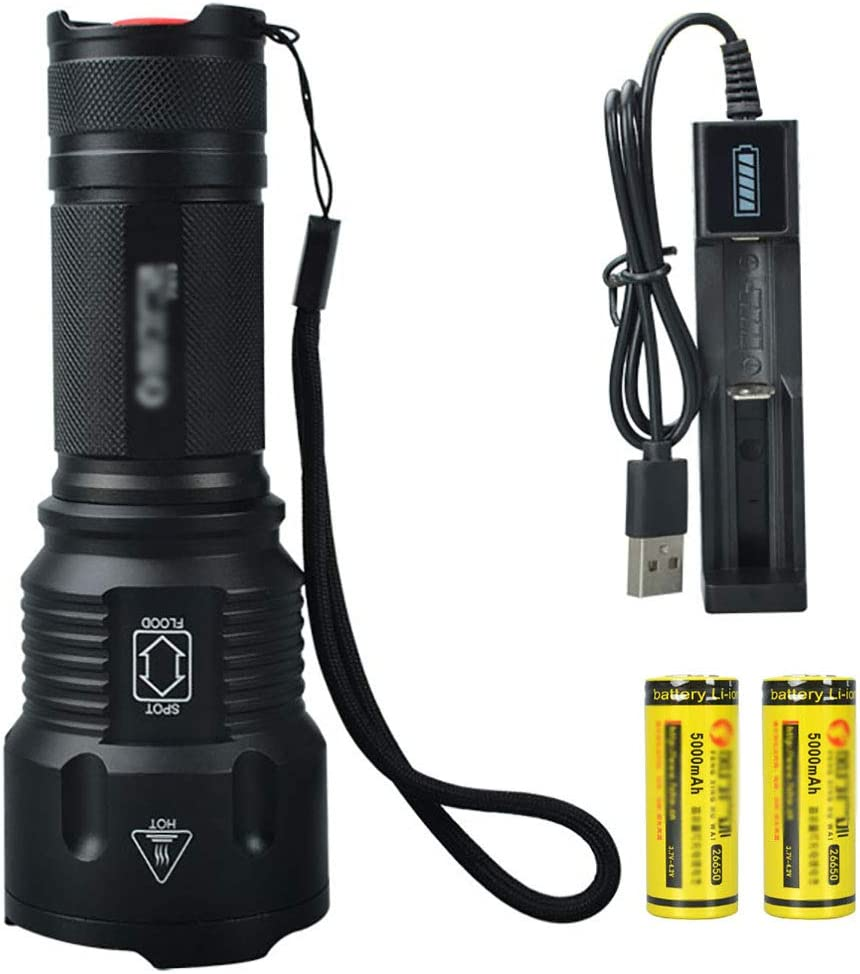 MORN Zoomable Handheld List price Flashlights Flashlight New products, world's highest quality popular! Rechargeable USB