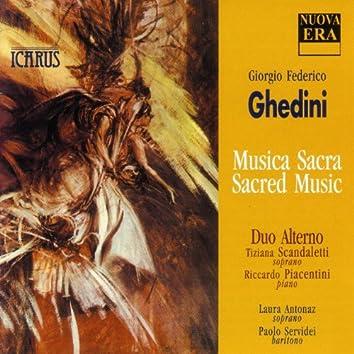 Ghedini: Musica Sacra / Sacred Music